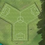 Trikick- Fußball im Dreierpack