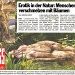 """""""Philemon und Baucis"""" von WolfTek in der Boulevard- Presse"""