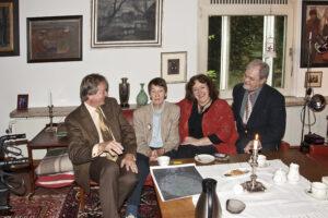 Josef-Wilhelm Knoke, Loki Schmidt, Johanna Renate Wöhlke und Dr. Wolf Tekook