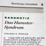 Das Hamster Syndrom
