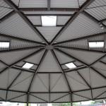 Überzeugende funktionale Architektur: Recyclinghof Hamburg Neugraben ist eine runde Sache!