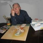 """""""Ein Maler ist 70: Rückblicke"""" – Einladung zur Vernissage"""