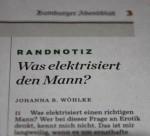 Was elektrisiert den Mann?
