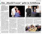 Unser Mitglied Hartmuth Seitz: Ein Musiktraum geht in Erfüllung