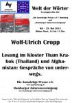 "5. Lesung ""Welt der Wörter"": 29. Mai 2013 IGS Hamburg – Fotos hier"