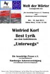 "8. Lesung ""Welt der Wörter"": 19. Juni 2013 IGS Hamburg – Fotos hier"