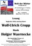 """10. Lesung """"Welt der Wörter"""": 3. Juli 2013 IGS-Hamburg – Fotos jetzt hier"""