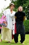 """Leonce und Lena im """"Theater N.N.""""  im Römischen Garten"""