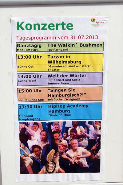 Buntes Programm an diesem Tag auf der IGS