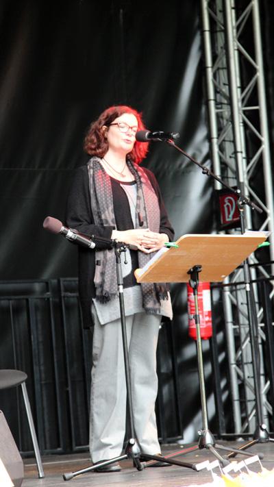 Maren Schönfeld liest