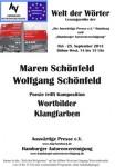 "22. Lesung ""Welt der Wörter"": 25. September 2013 IGS Hamburg, Fotos jetzt hier"