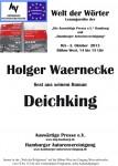 """23. Lesung """"Welt der Wörter"""": 2. Oktober 2013 IGS Hamburg – Fotos jetzt hier"""