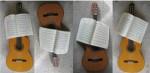 Klingende klassische Gitarre