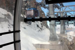 Baukunst im Hochgebirge - die Gletscherbahn