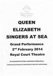 """""""Queen Elizabeth"""" – Singers At Sea"""
