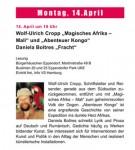 HEW-Lesetage, Wolf-Ulrich Cropp und Daniela Boltres