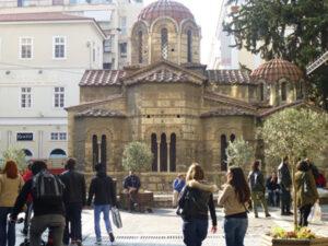Orthodoxe Kapelle in der Plaka