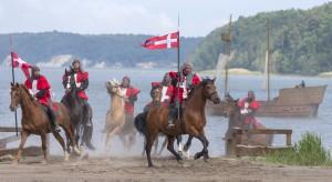 Aufritt der Dänensoldaten (Unsere Stuntmen)