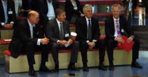Sie haben eine gemeinsame Vision ( von links) Michael Ungerer, Michael Eggenschwiler, Frank Horch, Jens Meier
