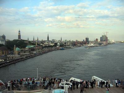 Hamburg wird kleiner