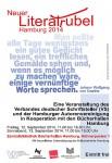 Literatrubel in Hamburg: 12. und 13. September 2014