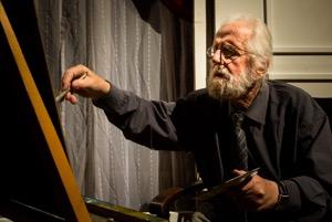 Hans-Peter Kurr in seinerl etzten Rolle