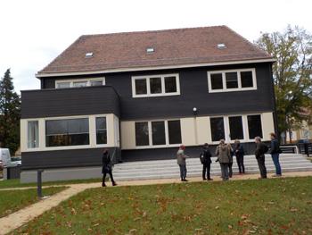 Haus aus Holz - Das Wachsmannhaus in Niesky