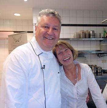 Denkt noch lange nicht an Rente: Heinz Wehmann mit Ehefrau Brigitta