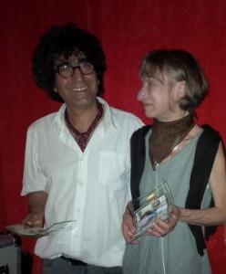 Bahman Nader-Nezhad, Heike Hartmann-Heesch Foto:Maren Schönfeld