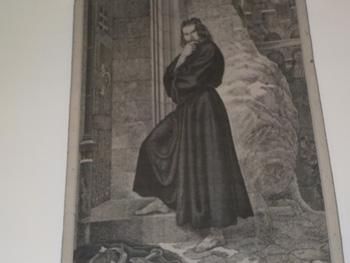 Das Bildnis Heinrichs IV. vor dem Burgtor