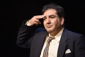 Höchstquailifizierter Star-Darsteller: Der iranisch-stämmige Mohammed-Ali Bedboudi