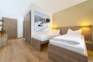 Zimmer Betten getrent