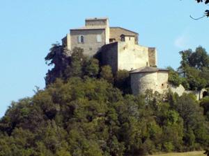 Die Burg Rossena