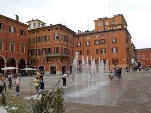 Zentrum von Modena
