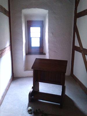 Die Lutherzelle im Augustinerkloster