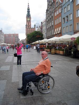 Mit dem Rollstuhl unterwegs