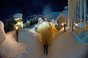 Wellness im Schnee