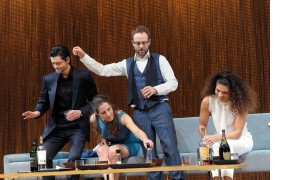 Carlo Ljubek, Ute Hannig, Samuel Weiss, Isabelle Redfern © Thomas Aurin
