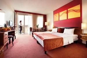 Doppelzimmer Foto: Hotel Europa fit