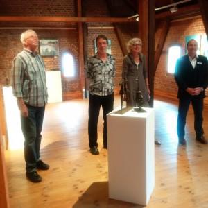 Uwe Jaensch, Dirk-Uwe Becker, Hanna Malzahn, Michael Stumm (v.l.n.r.)