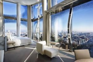 The Westin Hotel Hamburg Panorama Suite