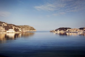 Ausblick auf die Bucht